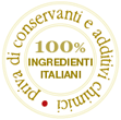 100% ingredienti italiani